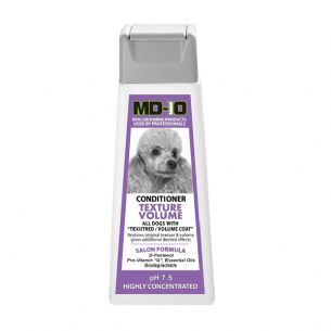 MD10 Conditioner Volume 300ml (Approx 10 Litres Diluted) Poodle Bichon Cockerpoo West Highland Terrier Bearded Collie Chow Chow Malamute Bolognese